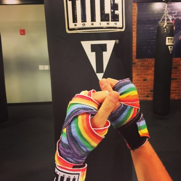 Rainbow Boxing Wraps